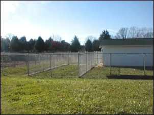 Play yard at Mystic Pet Resort in Luray VA