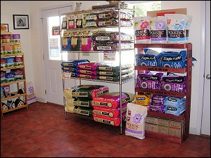 Retail Shop at Mystic Pet Resort