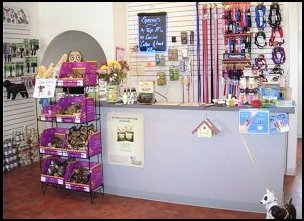 Retail Shop at Mystic Pet Resort